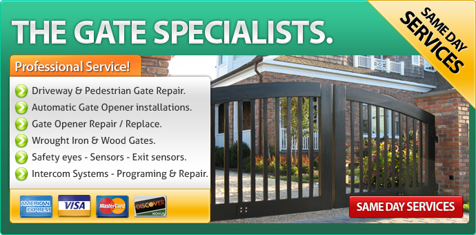 Gate repair Apple Valley CA
